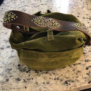 Tylie Malibu bag with leather rhinestone strap